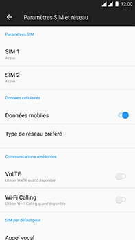 OnePlus 3 - Android Oreo - Internet - configuration manuelle - Étape 6