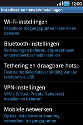 Samsung S5660 Galaxy Gio - Internet - aan- of uitzetten - Stap 5