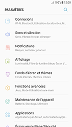 Samsung Galaxy J5 (2017) - Internet et connexion - Accéder au réseau Wi-Fi - Étape 4