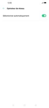 Oppo Find X2 - Réseau - Sélection manuelle du réseau - Étape 7