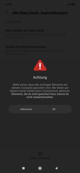 Xiaomi RedMi Note 7 - Gerät - Zurücksetzen auf die Werkseinstellungen - Schritt 8
