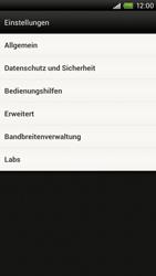 HTC One X - Internet - Manuelle Konfiguration - 18 / 23