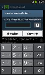 Samsung I9060 Galaxy Grand Neo - Anrufe - Rufumleitungen setzen und löschen - Schritt 10