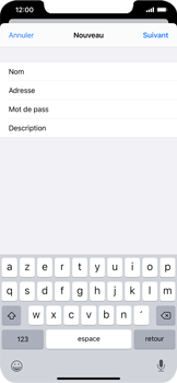 Apple iPhone XS Max - iOS 13 - E-mail - Configuration manuelle - Étape 10