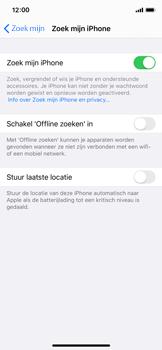 Apple iphone-11-pro-model-a2215 - Beveiliging en ouderlijk toezicht - Zoek mijn iPhone inschakelen - Stap 12