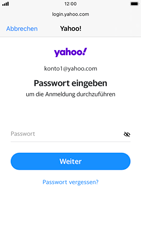 Apple iPhone 6s - iOS 14 - E-Mail - 032b. Email wizard - Yahoo - Schritt 7