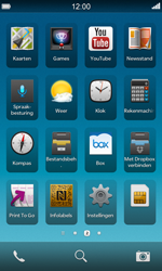 BlackBerry Z10 - Wifi - handmatig instellen - Stap 3