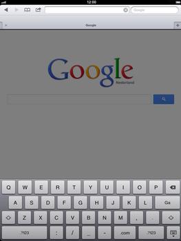 Apple The New iPad - Internet - Hoe te internetten - Stap 8