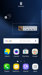 Samsung Galaxy S7 - Startanleitung - Installieren von Widgets und Apps auf der Startseite - Schritt 6