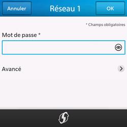 BlackBerry Q10 - WiFi - Configuration du WiFi - Étape 8