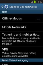 Samsung Galaxy Fame Lite - Internet und Datenroaming - Manuelle Konfiguration - Schritt 5