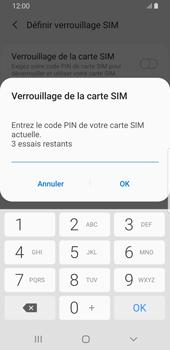 Samsung Galaxy S9 - Android Pie - Prise en main - Comment activer un code SIM - Étape 8