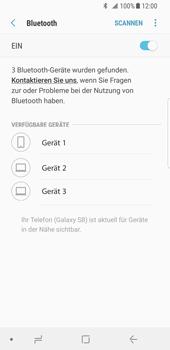 Samsung Galaxy S8 - Android Oreo - Bluetooth - Verbinden von Geräten - Schritt 7