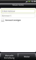 HTC S510e Desire S - E-Mail - Konto einrichten - Schritt 5