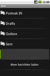 Samsung I5700 Galaxy Spica - e-mail - hoe te versturen - stap 13