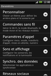 HTC A6262 Hero - MMS - Configuration manuelle - Étape 4