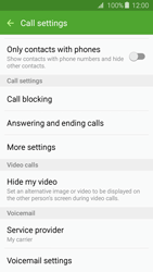 Samsung J320 Galaxy J3 (2016) - Voicemail - Manual configuration - Step 6