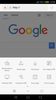 Huawei Mate S - Internet - Internet browsing - Step 7