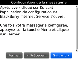 BlackBerry 9700 Bold - E-mail - Configuration manuelle - Étape 7