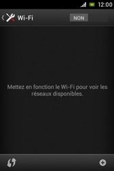 Sony C1505 Xperia E - Wifi - configuration manuelle - Étape 4