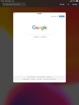 Apple iPad 9.7 (2018) - iPadOS 13 - Internet und Datenroaming - Verwenden des Internets - Schritt 12