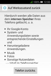 Alcatel OT-4009D Pixi 3 (3.5) - Fehlerbehebung - Handy zurücksetzen - Schritt 9