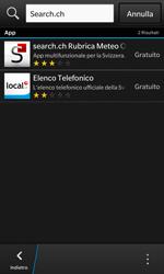 BlackBerry Z10 - Applicazioni - Installazione delle applicazioni - Fase 15