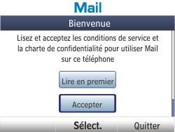 Nokia Asha 201 - E-mail - Configuration manuelle - Étape 4