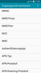Samsung A500FU Galaxy A5 - Internet - Manuelle Konfiguration - Schritt 13