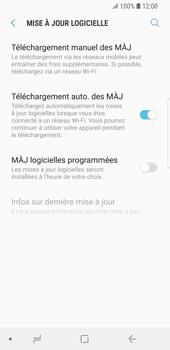 Samsung Galaxy S9 - Aller plus loin - Mettre à jour le logiciel interne de votre mobile - Étape 6