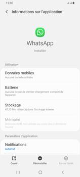 Samsung Galaxy A42 5G - Applications - Supprimer une application - Étape 6