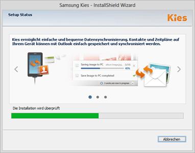 Samsung Galaxy A8 - Software - Installieren von Software zur PC-Synchronisierung - Schritt 6