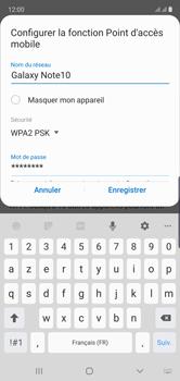 Samsung Galaxy Note 10 - Internet et connexion - Partager votre connexion en Wi-Fi - Étape 10