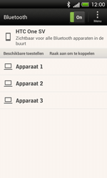 HTC C525u One SV - bluetooth - aanzetten - stap 7