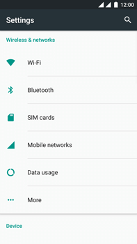 OnePlus 3 - Internet - Disable mobile data - Step 4