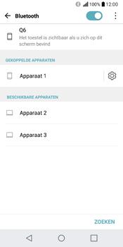 LG Q6 - bluetooth - headset, carkit verbinding - stap 8