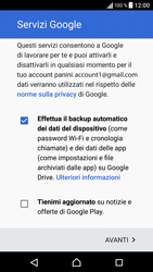 Sony Xperia XA - Applicazioni - Configurazione del negozio applicazioni - Fase 17