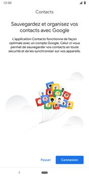 Google Pixel 3 - Contact, Appels, SMS/MMS - Ajouter un contact - Étape 4