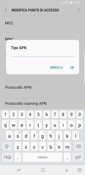 Samsung Galaxy S9 Plus - Internet e roaming dati - Configurazione manuale - Fase 14