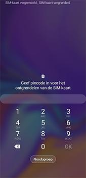 Samsung galaxy-a7-dual-sim-sm-a750fn-android-pie - Beveiliging en ouderlijk toezicht - PUK code invoeren - Stap 2