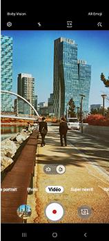 Samsung Galaxy A70 - Photos, vidéos, musique - Créer une vidéo - Étape 14