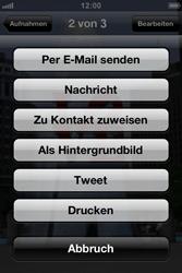 Apple iPhone 3GS - E-Mail - E-Mail versenden - Schritt 6