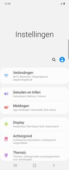 Samsung Galaxy Z Flip Single-SIM + eSIM (SM-F700F) - WiFi - Mobiele hotspot instellen - Stap 4