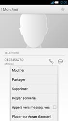 Bouygues Telecom Ultym 4 - Contact, Appels, SMS/MMS - Ajouter un contact - Étape 9
