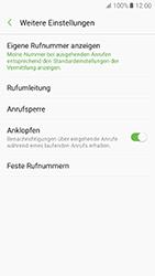 Samsung Galaxy A5 (2017) - Anrufe - Rufumleitungen setzen und löschen - 7 / 13