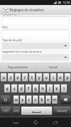 Sony Xpéria SP - E-mails - Ajouter ou modifier un compte e-mail - Étape 9