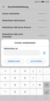 Huawei Mate 10 Lite - Anrufe - Rufumleitungen setzen und löschen - 7 / 9