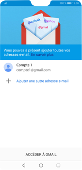 Huawei P20 Pro Android Pie - E-mail - 032a. Email wizard - Gmail - Étape 12
