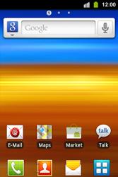 Samsung S5830i Galaxy Ace i - E-Mail - Konto einrichten - Schritt 2