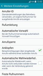 Samsung A300FU Galaxy A3 - Anrufe - Rufumleitungen setzen und löschen - Schritt 7